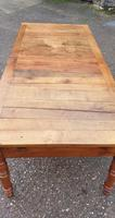 Huge French Farmhouse Kitchen Refrectory Table (2 of 8)