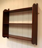 Mahogany Wall Shelves (3 of 10)