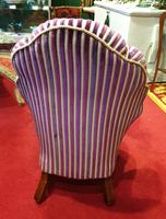 Unusual French 19th Century Upholstered Child's Chair (3 of 7)