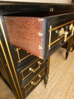 English Aesthetic Kneehole Writing Desk (7 of 10)