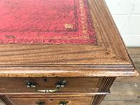 Antique Kneehole Desk (6 of 12)