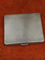 Antique Sterling Silver Hallmarked Unusual Cigarette Case 1946  Bishton's Ltd (4 of 11)