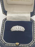 Diamond Half Eternity Ring (4 of 5)