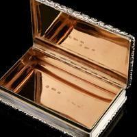 Rare Antique Georgian Solid Silver Mazeppa Snuff Box - Edward Smith 1836 (18 of 23)