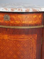 Matched Pair of French Inlaid Corner Cabinets (10 of 18)