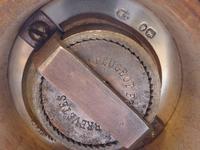 Victorian 1886 Solid Hallmarked Silver Cruet Set Salt & Pepper Grinders Mills (4 of 10)