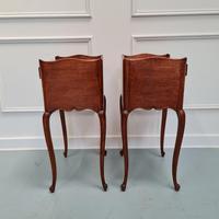 French Oak Bedside Tables c.1930 (5 of 5)