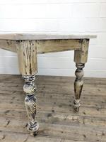 Vintage Pine Farmhouse Kitchen Table (5 of 9)