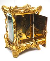 Extremely Rare 8-day Striking Carriage Repeat Feature Waterbury Clock Co c.1880 (7 of 14)