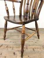 Victorian Ash & Elm Windsor Armchair (4 of 12)