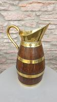 Early 19th Century Coopered Cider Jug (2 of 6)