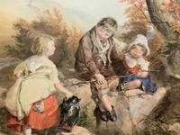 John Henry Mole Exhibition Quality Regency Period Watercolour Painting (8 of 13)