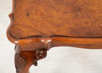 Walnut Queen Anne Style Occasional Table (3 of 8)