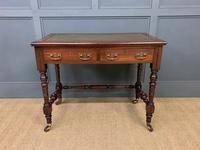 Good Late Victorian Mahogany Writing Table (5 of 14)
