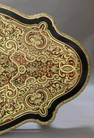 French Napoleon III Louis XV Style Boulle Writing or Centre Table (5 of 16)