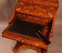 "Superb Victorian Burr Walnut ""Jack in a Box"" Davenport (13 of 16)"