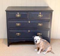 Pitch Pine Painted Chest of Drawers (6 of 11)