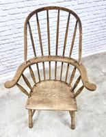 Early Cornish Windsor Armchair (4 of 8)