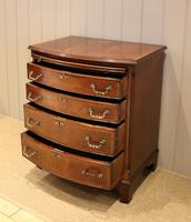 Mahogany Bow Front Chest of Drawers c.1920 (5 of 11)