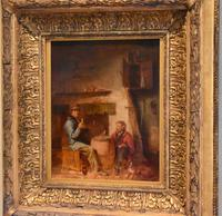 Superb oil painting by Edmund Bristow (1787-1876) (10 of 11)