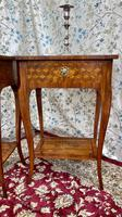 Pair of French Parquetry / Marquetry Side Tables (2 of 20)