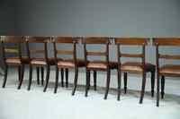 6 Mahogany Bar Back Dining Chair (6 of 8)