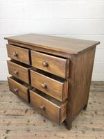 Antique Mahogany Chest of Six Drawers (5 of 9)