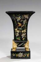 Pair of Mid 19th Century Tole Vases (5 of 6)