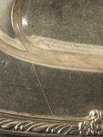 Fine Large English Georgian Revival Silver Plate Acanthus Repousse Meat Salver (5 of 12)