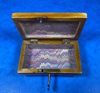 Regency Miniature Sycamore Box. (13 of 14)