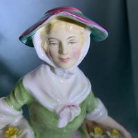"""Rare Royal Doulton Figurine, HN1712, """"Daffy Down Dilly"""" (10 of 11)"""