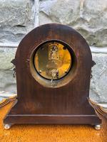 Edwardian Inlaid Mahogany Mantle Clock (5 of 6)