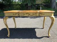 Antique Venetian Polychrome Painted Coffee Table (5 of 9)