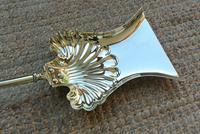 Quality Victorian Brass Fire Irons Companion Set Tongs Poker Shovel c.1895 Set 23 (6 of 9)