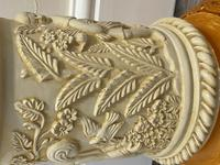 Dutch Golden Age Style Gilt Harvest Relief Plinth Display Torcheres (66 of 87)