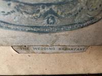 "Victorian Louis Wain Print ""The Wedding Breakfast"" Advertising Mellin's Food Biscuits (10 of 14)"