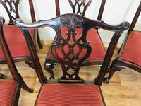 Set of Eight Oversized Dining Chairs (16 of 18)