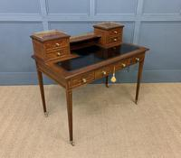 Edwards & Roberts Inlaid Mahogany Writing Desk (12 of 20)