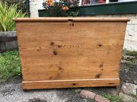 Antique Pine Travelling Box (4 of 6)