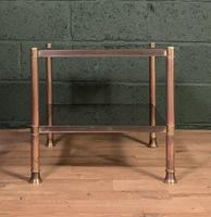 Mid Century Brass Coffee Table (2 of 5)