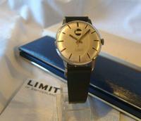 Vintage Swiss Wristwatch 1970s Gentlemans 17 Jewel Limit With Castrol Logo Dial Fwo (4 of 12)