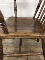 Antique 19th Century Beech & Elm Windsor Armchair (3 of 13)