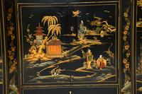 Art Deco Lacquered Chinoiserie Drinks Cabinet / Sideboard (14 of 16)