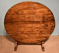French Provincial Poplar Fruitwood Vondage Dining Table (2 of 4)