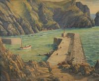 Mullion Cove-Cornwall by Leonard G Kersley (2 of 7)