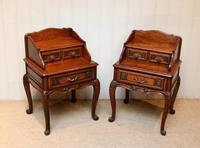 Pair of French Solid Oak Bedside Cabinets (6 of 8)