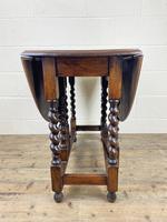 Antique Oak Gateleg Table (9 of 11)