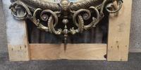 Victorian Gilt & Gesso Overmantle Mirror c.1870 (9 of 11)