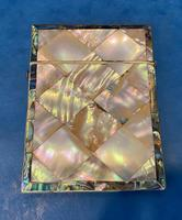Victorian Abalone & Mother of Pearl Card Case (13 of 16)