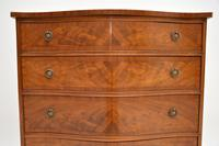 Antique Georgian Style Flame Mahogany Chest of Drawers (3 of 10)
